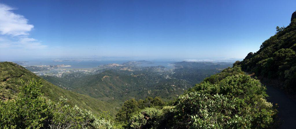 Bild vom Mt. Tamalpais auf San Francisco
