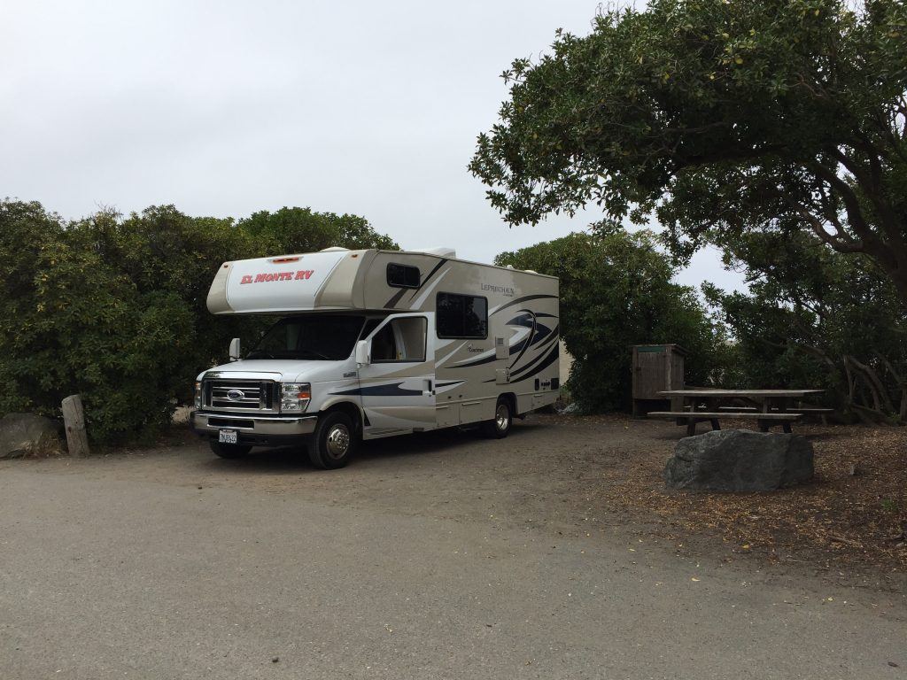 RV am Wright's Beach