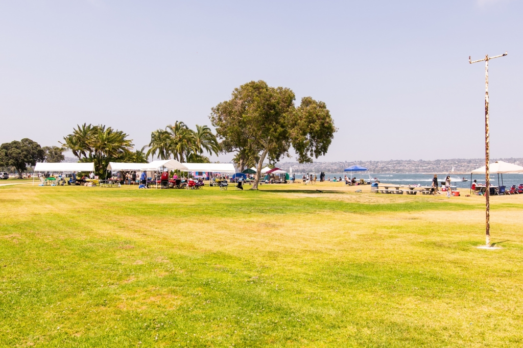 Ski Beach Park in Mission Bay San Diego